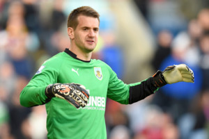 Goalkeeper Tom Heaton, Burnley.