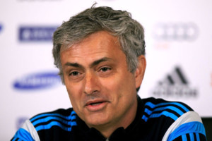 File photo dated 13-03-2015 of Chelsea manager Jose Mourinho during a press conference at Cobham Training Ground, Stoke D'Abernon.