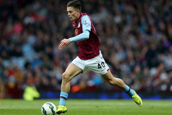 Aston Villa's Jack Grealish