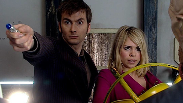 Doctor Who David Tennant Billie Piper The Impossible Planet