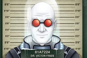 Mr Freeze mugshot