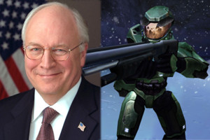 Halo Dick Cheney