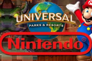 Nintendo Universal Theme Parks Mario