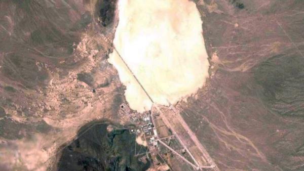 area 51 aerial shot