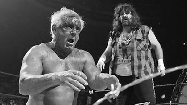 Ric Flair Mick Foley I Quit 2006