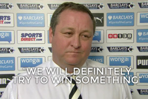 Mike Ashley Sky Sports Interview
