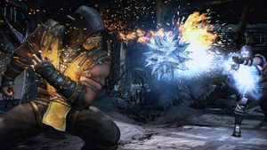 Scorpion Sub Zero Mortal Kombat X Gameplay