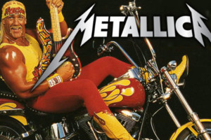 Hulk Hogan Guitar Metallica