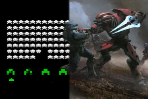 Halo Space Invaders gaming history