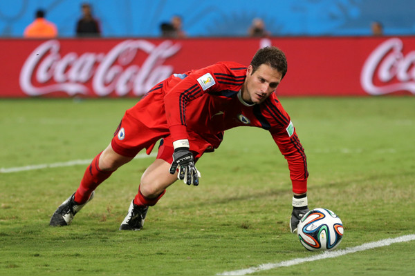 Bosnia & Herzegovina goalkeeper Asmir Begovic