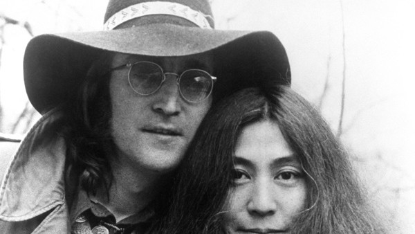 John Lennon and Yoko Ono pictured in 1973.