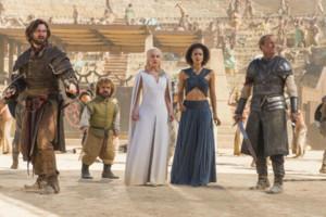 Daenerys Tyrion Jorah Missandei Daario Dance of Dragons
