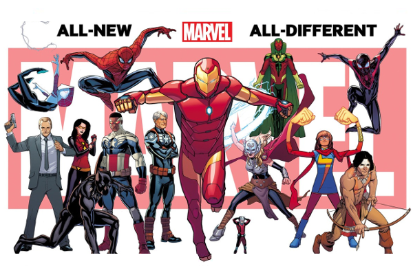 All-New, All-Different Marvel First Teaser