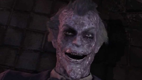 Batman Arkham City Joker Death