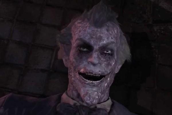 Batman Arkham City Joker Death