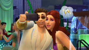 The Sims 4 selfie