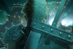 Final Fantasy VII remake cloud midgar