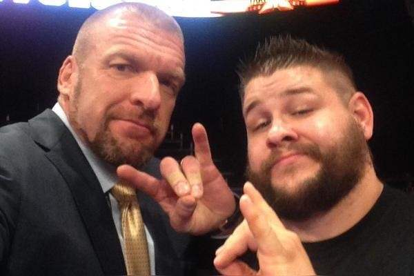 Kevin Owens Triple H Too Sweet
