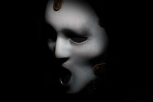Scream TV mask