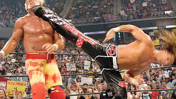 Shawn Michaels Sweet Chin Music Hulk Hogan