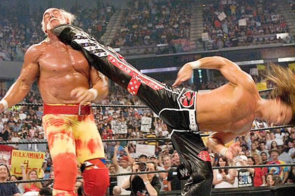Shawn Michaels Sweet Chin Music Hulk Hogan