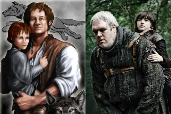 How does the book series game of thrones end theory