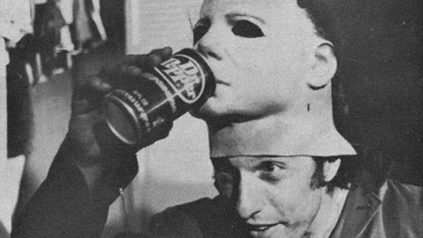 halloween behind the scenes michael myers dr pepper