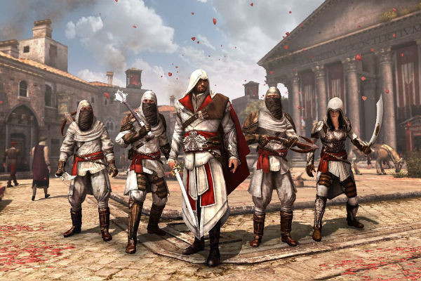 Creed Brotherhood recruits