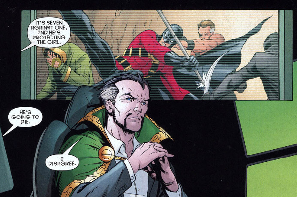 9. Ra's Al Ghul Tortures Robin To See If He'd Be A Good Father