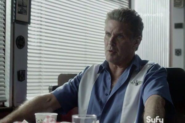 Sharknado 3 David Hasselhoff