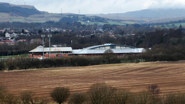 A general view of Murray Park Training Ground in Glasgow.