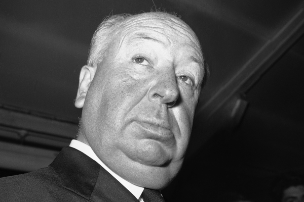 Did alfred hitchcock have a belly button