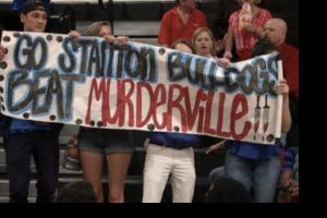 Scream Murderville Sign