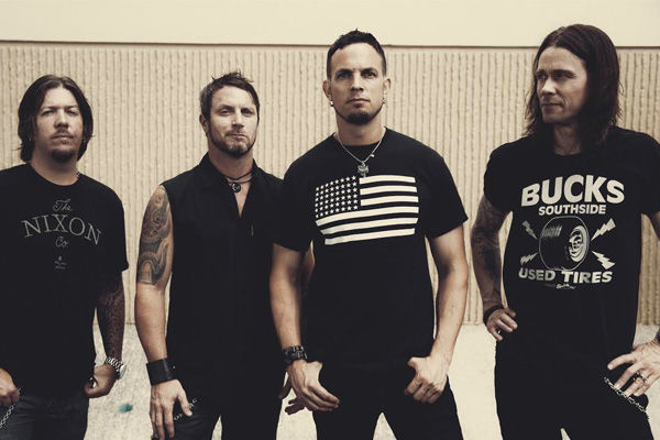 Alter Bridge group photo