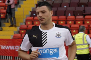 Haris Vuckic Newcastle United Gateshead International Stadium July 10th 2015