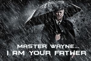 Bruce Wayne Michael Caine Father Dark Knight