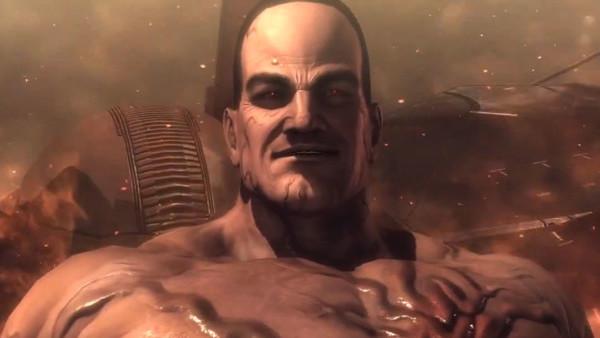 Metal Gear Rising Senator Armstrong boss