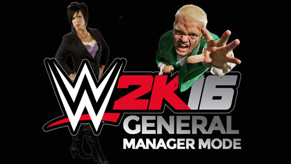 WWE 2K16 General Manager Mode