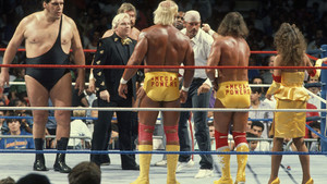 Hulk Hogan, Randy Savage, Miss Elizabeth, Mega Powers