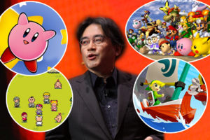 Satoru Iwata RIP Nintendo tribute