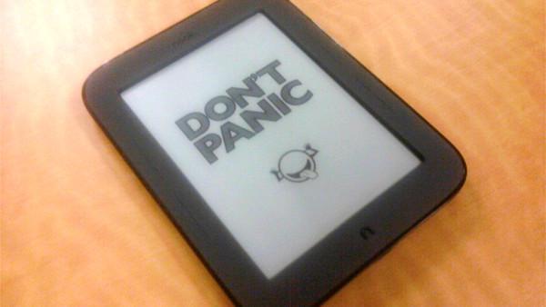 Don't panic e book
