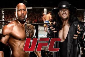 ROCK UNDERTAKER UFC