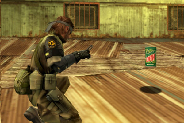 Product Placements In Games - Good, Bad, Ugly Mountaindew