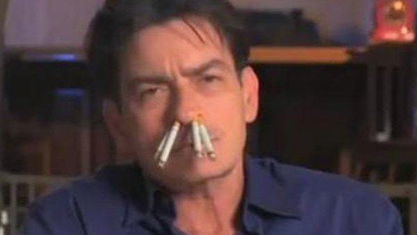 Charlie Sheen Sucking Dick