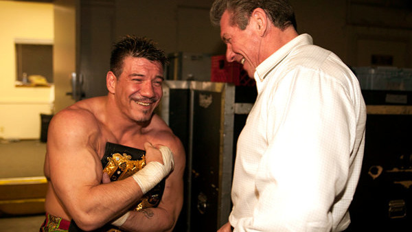 Eddie Guerrero Vince McMahon Backstage No Way Out 2004