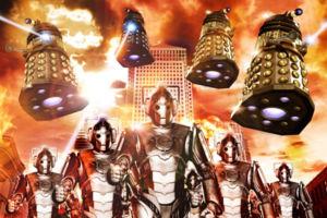 Doctor Who Cybermen Daleks