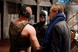 The Dark Knight Rises Chris Nolan Tom Hardy Cristian Bale