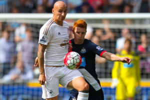 Jonjo Shelvey (Swansea City), Jack Colback (Newcastle United)
