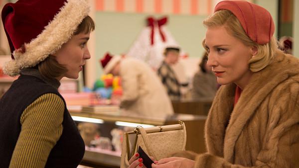 Carol Rooney Mara Cate Blanchett