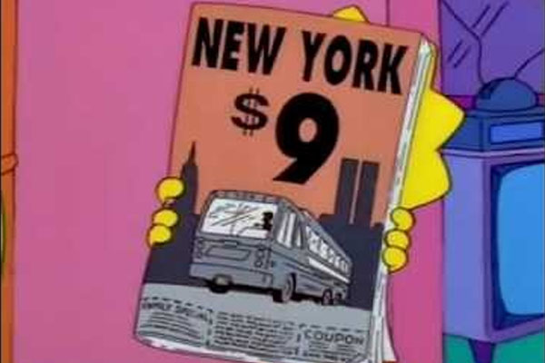 9 times the simpsons predicted the future